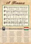 Himnusz tabló (vastag fóliával)