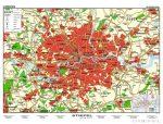 London várostérkép (angol nyelvű)