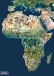 Afrika a világűrből