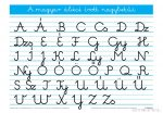 A magyar ABC írott nagybetűi