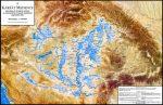 A Kárpát-medence vízborította és árvízjárta területei a folyószabályozások előtt
