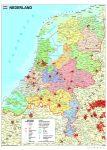 Hollandia politikai térképe