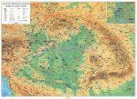 Magyar történeti emlékek a Kárpát-medencében (DUO - kétoldalas  falitérkép)