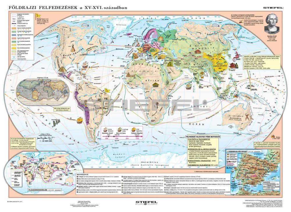 földrajzi felfedezések térkép A nagy földrajzi felfedezések + a reneszánsz és humanizmus