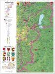 Burgenland térképe (német)