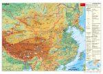 Kína domborzata (német)