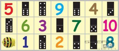 BEE-BOT Gyakorlópálya, számok