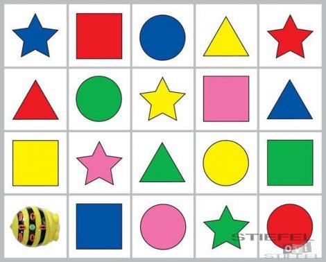 BEE-BOT Gyakorlópálya, formák és színek 1.