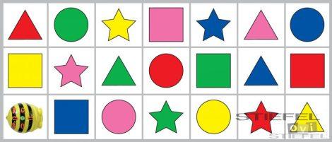 BEE-BOT Gyakorlópálya, formák és színek 2.