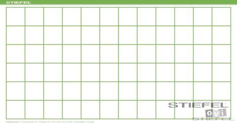 BEE-BOT Gyakorlópálya, négyzetrácsos, 190x100 cm