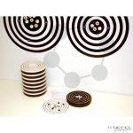Interaktív atom modell, Bohr-féle (Szemléltető modell és Tanuló modellek fekete alátéttel)