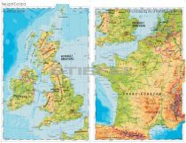 Nyugat-Európa domborzata