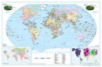 Világtérkép kartogramokkal