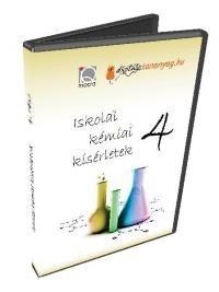 Iskolai kémiai kísérletek 4. (DVD)