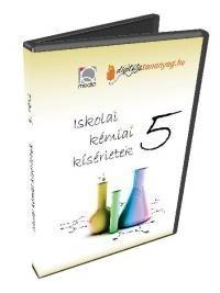 Iskolai kémiai kísérletek 5. (DVD)