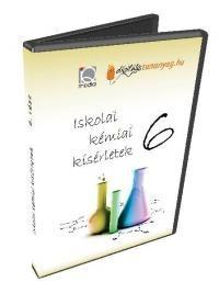 Iskolai kémiai kísérletek 6. (DVD)