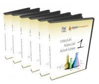 Iskolai kémiai kísérletek  csomag 1-6. (6 DVD)
