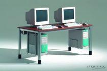EBR számítógépasztal (Szél./mag./mély.: 200 x 72 x 90 cm)