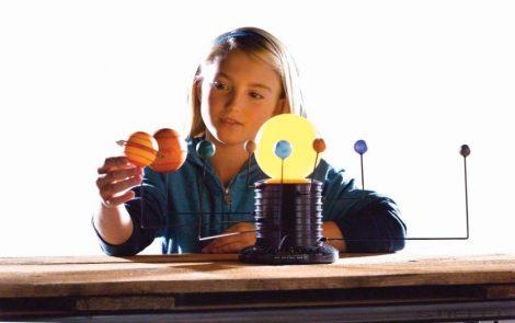 GeoSafari motoros, mozgó Naprendszer modell