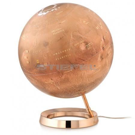 MARS Gömb - 30cm, körtalpas, világító