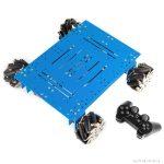 Mecanum Wheel Robot Kit (Orion alaplappal és joystickkel)