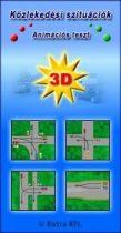 Közlekedési szituációk animációs teszt