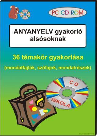 Anyanyelv gyakorló CD-ROM alsósoknak