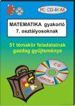 Matematika gyakorló 7. osztályosoknak, CD-ROM