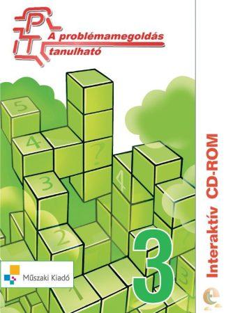 A problémamegoldás tanulható - interaktív CD-rom - harmadik szint: 3. osztályosoknak [Cd-ről indítható]