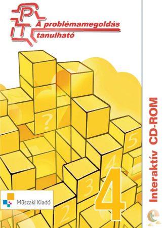 A problémamegoldás tanulható - interaktív CD-rom - negyedik szint: 4. osztályosoknak [Cd-ről indítható]