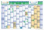 Tanéves tervezőnaptár iskoláknak 2019/20-es tanévre