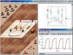 Elektromosság laboratórium - paraméterezhető szemléltető példatár