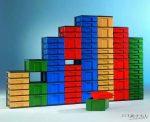 InBox tárolóelem 103 cm magas, 5 db magas fiókkal
