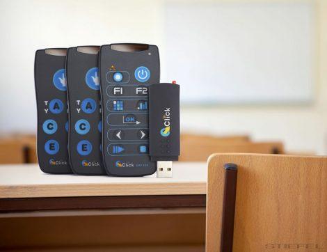 32 db QOMO QRF300 hallgatói válaszadó egység+1 db tanári egység