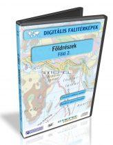 Digitális Térkép - Földrészek  - Föld 2. - Föld tematikus térképek (15 térkép)