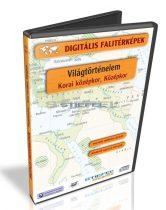 Digitális Térkép - Világtörténelem - Korai középkor, Középkor (12 térkép)