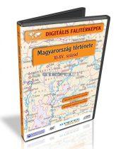 Digitális Térkép - Magyarország története - XI-XV század (17 térkép)