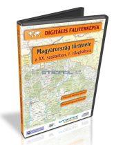 Digitális Térkép - Történelem - Magyarország a XX. században, 1. világháború (17 térkép)