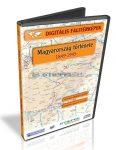 Digitális Térkép - Magyarország története - 1849-1945 (14 térkép)