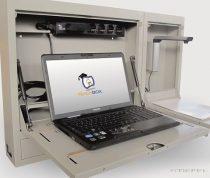 TeachBox - Biztonsági szekrény tanári laptophoz/notebookhoz