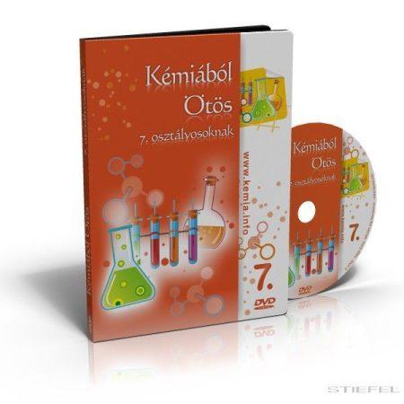 Kémiából Ötös DVD 7. osztályosoknak (CSALÁDI LICENC)