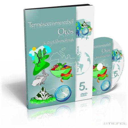 Természetismeretből Ötös DVD 5. osztályosoknak (CSALÁDI LICENC)