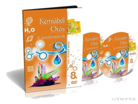 Kémiából Ötös DVD 8. osztályosoknak (ISKOLAI LICENC)