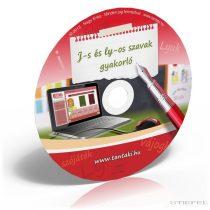 J-s és ly-os szavak gyakorló CD (ISKOLAI LICENC)