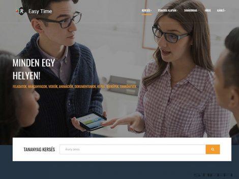 EasyTime tantermi keretrendszer szolgáltatás (1 év)