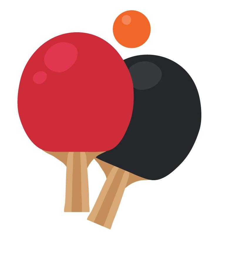 Tollaslabda, ping-pong