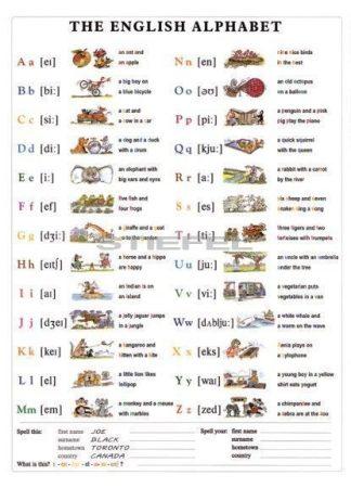 The English Alphabet DUO + 10 db ajándék tanulói munkalap