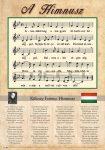Himnusz tabló fémléccel- B2