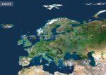 Európa a világűrből