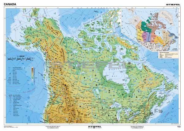 Kanada Domborzati Angol